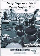 Easy Beginner Rock Drum Instruction DVD: Learn Basic Rock Drum Patterns