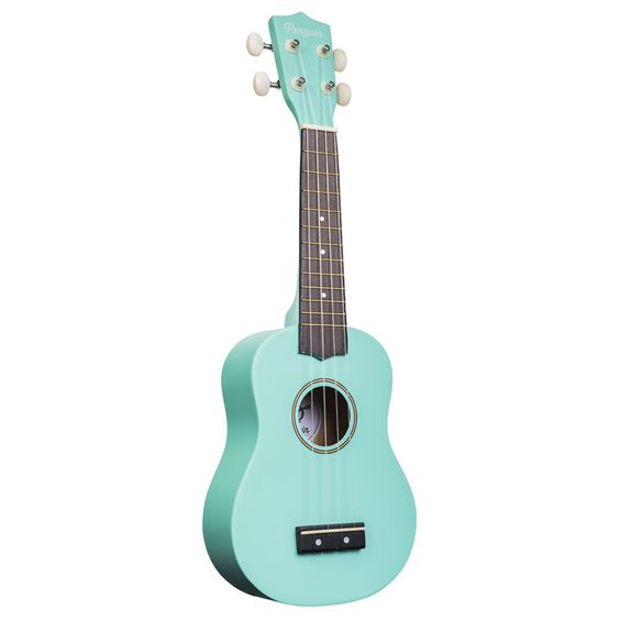 Amahi PGUKLB Soprano Penguin Ukulele with Gig Bag - Light blue