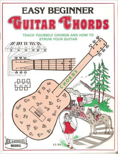 easy beginner guitar chords instruction book learn to play guitar cho morrell music company. Black Bedroom Furniture Sets. Home Design Ideas