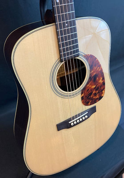 Recording King RD-328 Adirondack Dreadnought Acoustic Guitar Aged Natural Finish