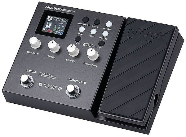 NuX MG-300 Multi-Effects Modelling Guitar Processor Pedal