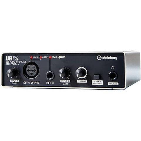 Steinberg UR12 2x2 USB 2.0 Audio Interface with 1 x D-PRE