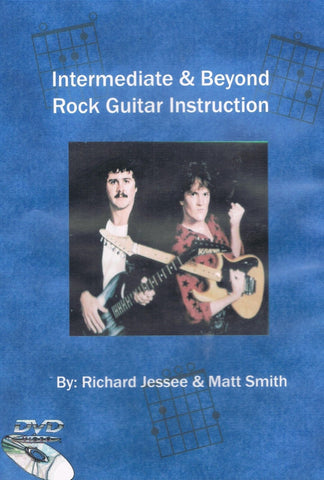 Intermediate and Beyond Rock Guitar Instruction DVD: Intermediate Techniques