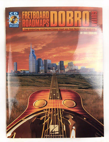 Fretboard Roadmaps - Dobro Resonator Guitar Instructional Book