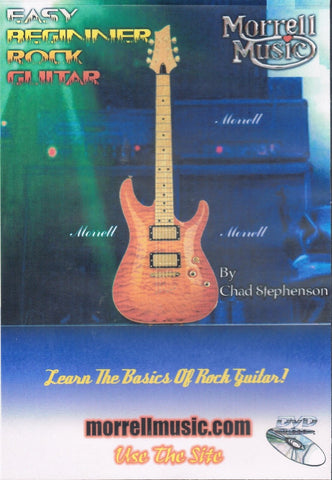 Easy Beginner Rock Guitar Instructional DVD: Learn The Basics of Rock Guitar!