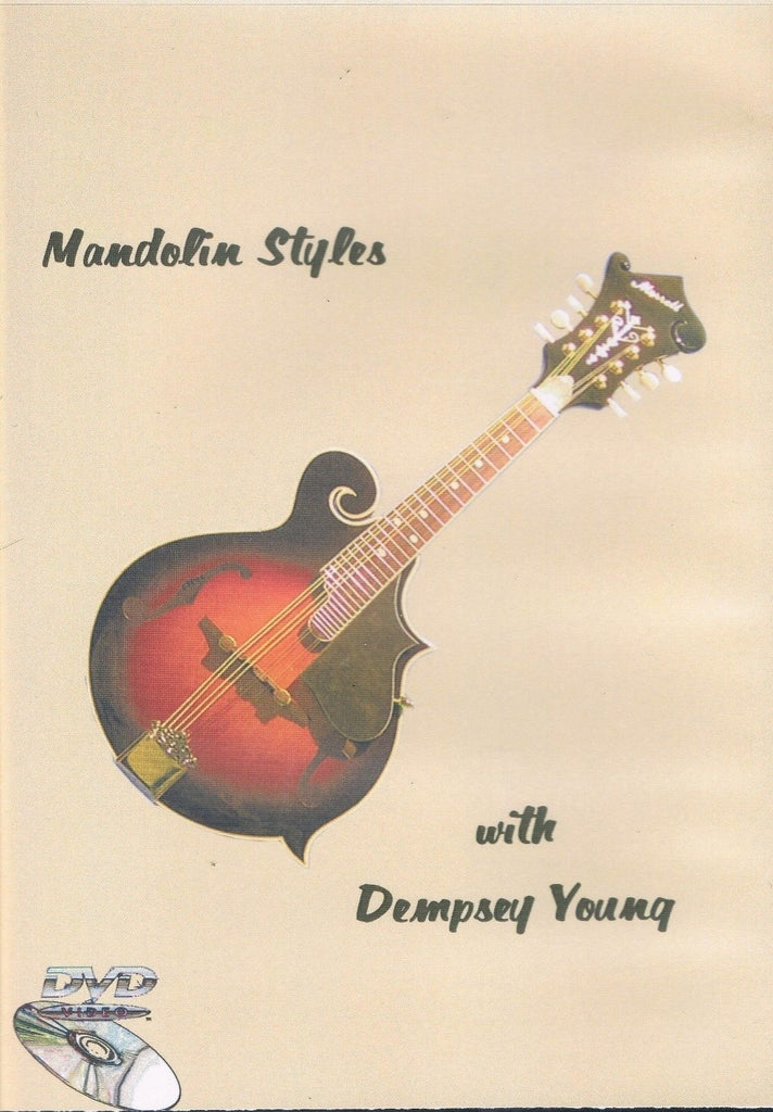 Mandolin Styles Instructional DVD by Dempsey Young: Learn to Play Mandolin!