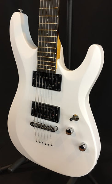 Schecter 432 C‑6 Deluxe Electric Guitar Satin White