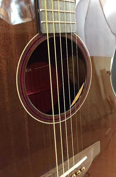 Yamaha STORIA III Concert Acoustic-Electric Guitar Mahogany Chocolate Brown
