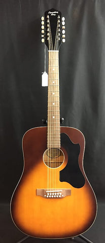 Recording King RDS-9-12-TS 12-String Dreadnought Acoustic Guitar Tobacco Sunburst