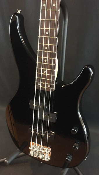 Yamaha TRBX174BL 4-String Electric Bass Guitar Gloss Black