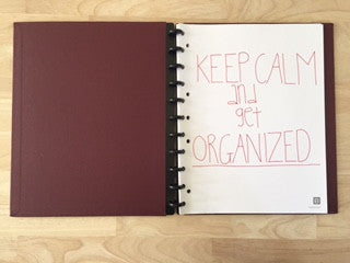 Can't Stay Organized? Try Paper