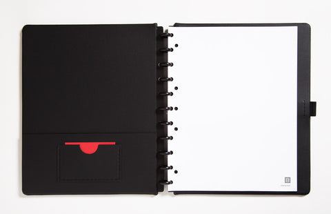 Letter Sized Leather Notebook