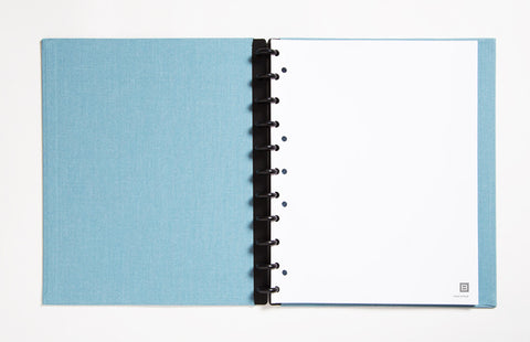 Letter Sized Linen Notebook