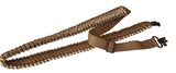 BuckStruck Gun Sling Paracord 550 Adjustable w/ Swivels - For Rifle Shotgun And Crossbow Hunting - Survival and Shooting (Desert Woodland Brown) - BuckStruck Outdoors