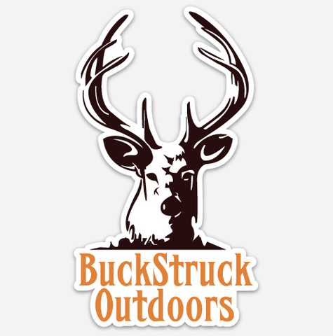 BuckStruck Vinyl Truck Decal - BuckStruck Outdoors