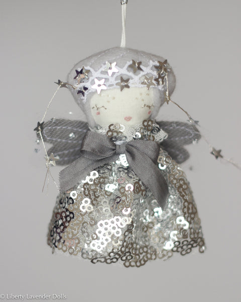 PREORDER: Mini Doll Ornament. Astraea, Limited Edition Tiny Fairy Made to order