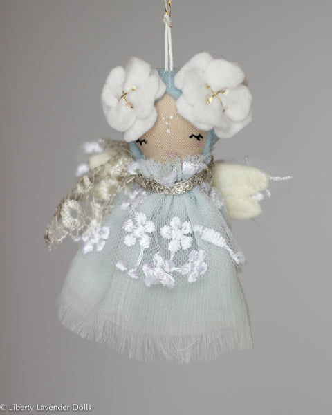 PREORDER: Mini Doll Ornament. Delphine, Limited Edition Made to order