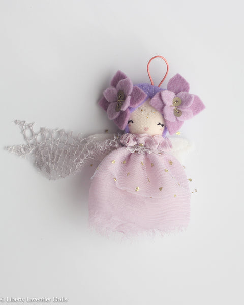 PREORDER: Mini Doll Ornament. Eolande, Limited Edition Tiny Fairy Made to order