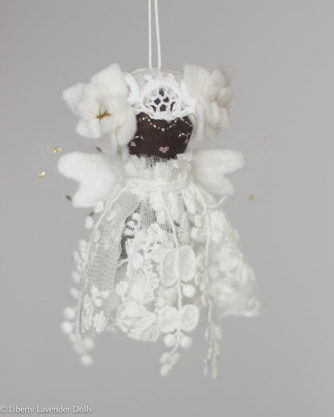 PREORDER: Mini Doll Ornament. Magnolia, Limited Edition Tiny Fairy Made to order