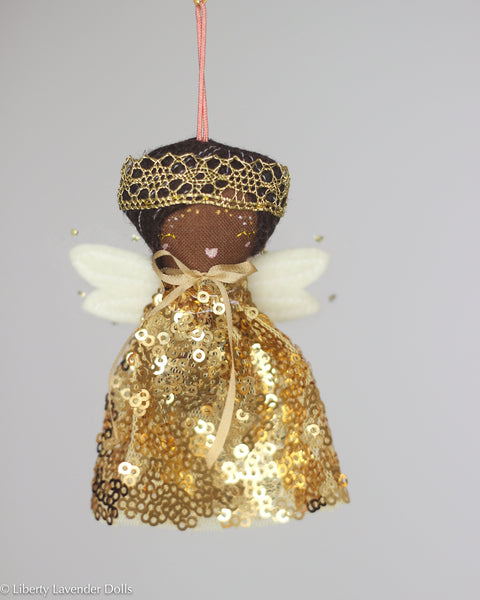 PREORDER: Mini Doll Ornament. Zara, Limited Edition Tiny Fairy Made to order READ DESCRIPTION please.