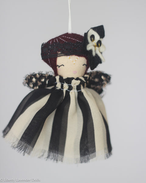 PREORDER: Mini Doll Ornament. Coco, Limited Edition Tiny Fairy Made to order
