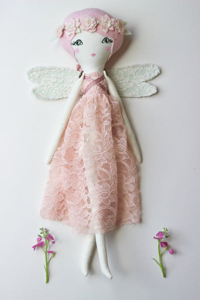 "Reserved - Deluxe Fairy Doll Play Set - 19"" ish"