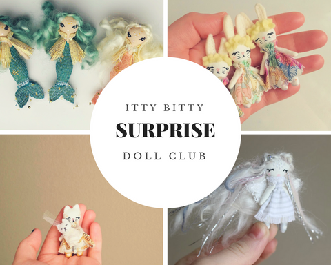 Surprise!! Itty Bitty Miniature Doll Club Subscription!