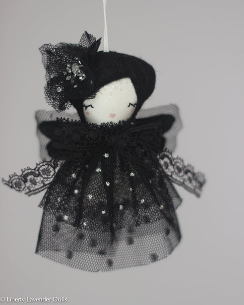 PREORDER: Mini Doll Ornament. Neoma, Limited Edition Tiny Fairy Made to order
