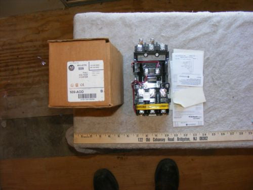 Allen Bradley Full Voltage Starter 509-AOD New In Box