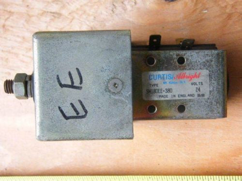 Curtis Allright SW180EE-380 24 volt 24v Contact Switch Tennant