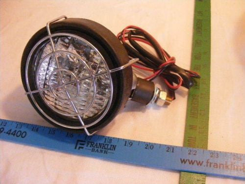 "New 24V  24 Volt 5"" Spot Light w brush Guard"