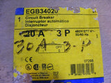 Square D EGB34020 Circuit Breaker 30 A 3P 480Y/277V 50/60Hz New In Box