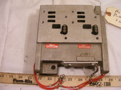 Parker Speed King K142077 SK-200 double solenoid base