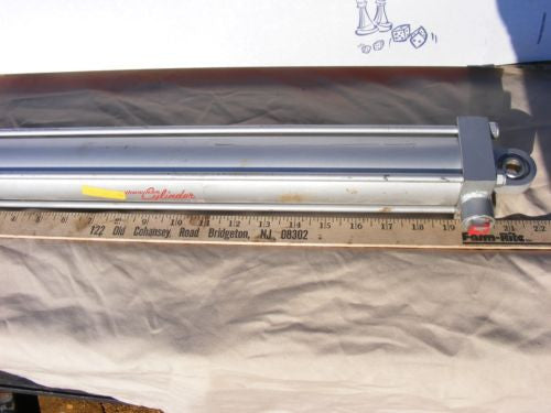 "New MILWAUKEE LH-62 Pneumatic CYLINDER 2"" BORE 16"" Stroke 1,500 PSI"