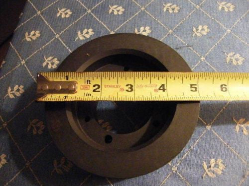 "Dual Belt Sheave 3/4"" Belt Grooves by 5 Inches Across."