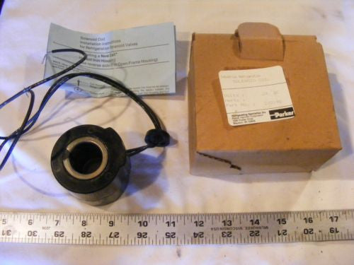 Parker Refrigeration 202198 Solenoid Coil 24 DC New In Box