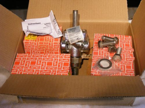 Danfoss 027G9617 Kit w/ Evrat 10 Solenoid Valve 032F6214 See Pictures New In Box
