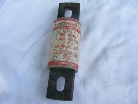 Economy Fuse LCL-601 Class L 601 A 600 V or Less Current Limiting Fuse