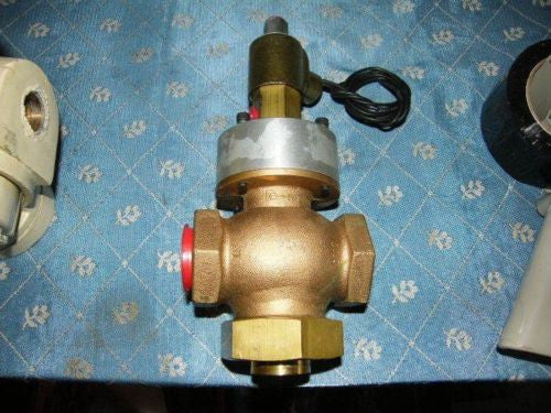 "Lexair Airmatic 1-1/2"" 3-WAY SOLENOID VALVES 120V/60HZ 150 PSI"