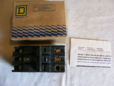 Square D QOU370 Circuit Breaker 70A 3Pole 240V 50/60Hz NIB