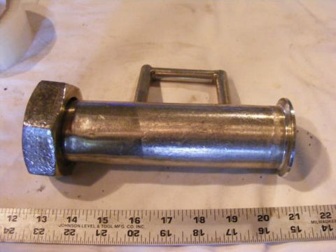 "2"" Tri clover Triclover Pipe Fitting to a 2"" Threaded Coupling end"