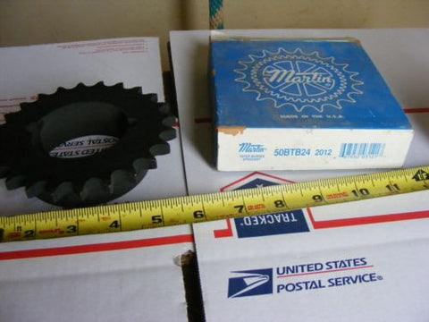 "50BTB24H Martin 50 Chain Size, For 2012 Bushing, 0.625"" Pitch, 24 Teeth"