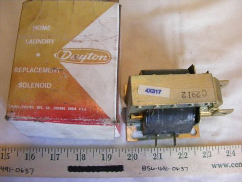 Dayton 4X317 Home Laundry Replacement Solenoid NIB