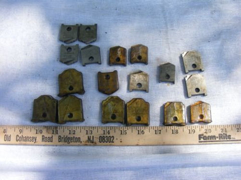 Lot of 18 Misc. Madison High Speed Adjustable Reamer Blades Various Sizes