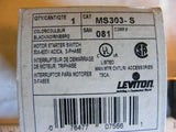 Leviton MS303 Motor Starter Switch 30A AC/CA 3 Phase  NIB