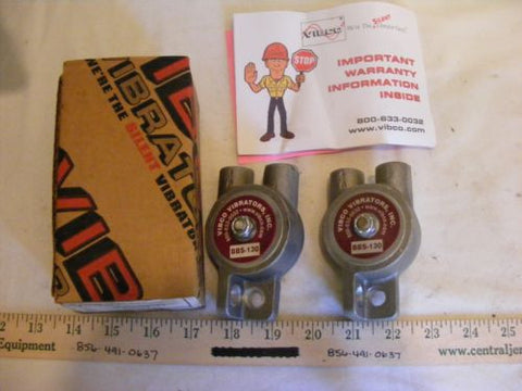 VIBCO Vibrators Inc. BBS-130  Lot of 2 New Vibrator Only
