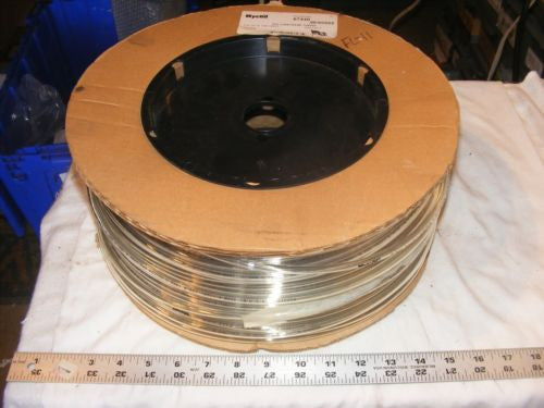 "NyCoil 67440 1/4"" od x .040 wall Clear 500ft of Polyurethane Tubing"