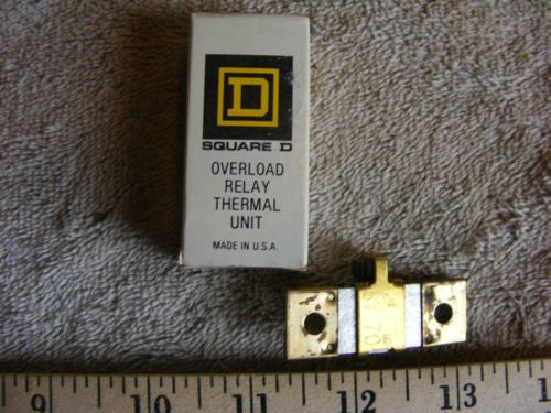 Lot of 2 Square D B7.70 Overload Relay Thermal Unit