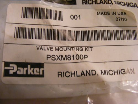 Lot of 7 Parker PSXM8100P Valve Mounting Kit New In Package