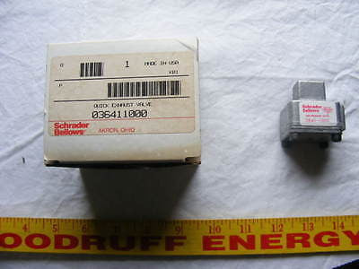 SCHRADER BELLOWS 3641-1000 NEW VALVE 36411000